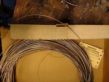 "Solder Silvaloy 45% Silver 1/16"" brazing wire w/Cd Sold By the Foot 3' minimum"