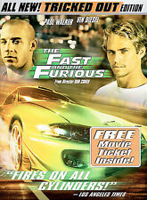 The Fast and the Furious (DVD, 2003, Tricked Out Edition; Full Frame)