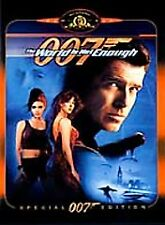 The World Is Not Enough (DVD, 2000, Special Edition) Pierce Brosnan 007 NEW