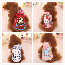 Cute yorkie Dog Clothes Soft Hoodie Puppy Coat for chihuahua Teacup Cat XXXS/XXS