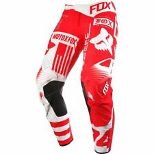 Fox Racing 2016 Flexair Union Motocross Pant Red New W/ Tags Free Shipping