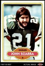 1980 Topps #397 John Sciarra Eagles NM/MT