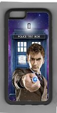Doctor Who David Tennant  Tardis Apple iPhone or iPod Case