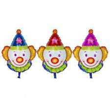 Funny Juggles Super Clown Aluminum Foil Balloon Kids Birthday Party Gift Favour