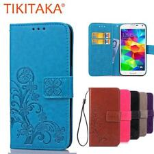 Luxury Leather Wallet Flip Case For Samsung Galaxy S5 i9600 Cover Multifunction