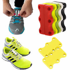 1Pair Magnetic Casual Sneaker Shoe Buckles Closure No-Tie Shoelace Hot Gift