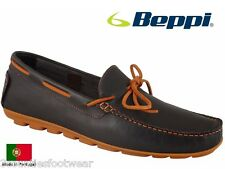 BEPPI DECK SHOES - HAND MADE IN PORTUGAL - LEATHER BOAT SHOES