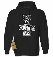 Kiss My Country Ass Adult Hoodie Sweatshirt