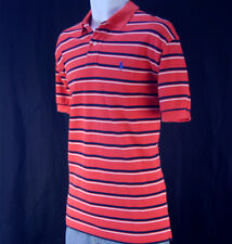 NWT Ralph Lauren Men's Stripe Mesh Polo Shirt  /Short Sleeve / size M