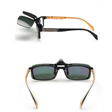 Polarized Day Night Vision Flip-up Clip-on Lens Driving Glasses Sunglasses New