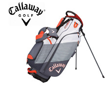 New Callaway Golf Chev Stand Bag Blue Orange 7-Way Divided Top Full Length
