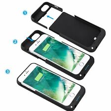 External Power Charger Battery Backup Backup Case Cover for Apple iPhone 8 7 +