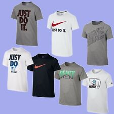 New NWT Nike Graphic-Print T-Shirt, Big Boys (8-20) in Black, White, or Gray