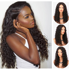 Human Hair Silk Base Full Lace Front Wig Curly Brazilian Remy Hair 360 Lace Wig
