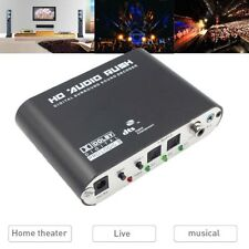 5.1CH digital to Amplifier Analog audio SPDIF Coaxial to RCA DTS AC3 decoder ~!!