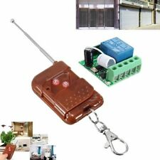 12V 10A Relay 1 Channel  Wireless RF Remote Control Switch Transmitter+ Receiver
