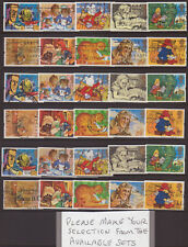 """LOT#331c(1-3) QEII 1994 """"MESSAGES"""" GREETINGS STAMPS (Multiple Listing) SETS USED"""