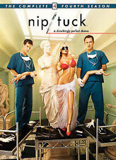 Nip/Tuck The Complete Fourth Season DVD 2007 5 Disc Set