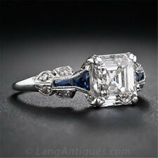 2.45ct  White Topaz Women Jewelry 925 Silver Wedding Anniversary Ring Size 6-10