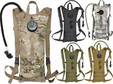 Tactical Hydration Pack 3 Liter Bladder Military MOLLE System Backpack Water Bag