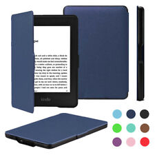 For Amazon Kindle Paperwhite Cover Magnetic Closure Shockproof Thin PU Case Skin