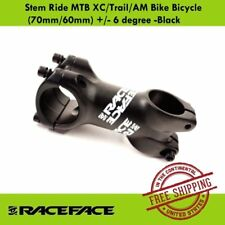 Race Face Ride XC Stem (60mm/70mm) +/- 6 degree MTB XC/Trail/AM Bike Stem Black