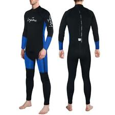 3mm Neoprene Mens Scuba Diving Suits Full Body Wetsuit Surf Snorkeling Jumpsuit
