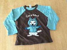 NWT Gymboree Boys Tee Shirt long Sleeve I'm a hoot SZ 2T Toddler