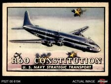 1952 Topps Wings #41 R60 Constitution EX/MT
