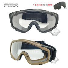 Airsoft Paintball Tactical Goggle Glasses Protection Anti-Fog Lens Military Army