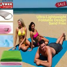 HOT SALE Sand Free Sandless Beach Mat Blanket Outdoor Picnic Travel Camping Hike