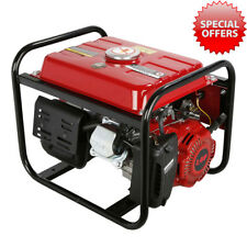 1.4-3 KW 220V 7.5HP 50Hz 4 Stroke Heavy Duty Power Petrol Electric Generator UK