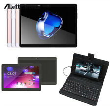 3G 10.1'' Tablet PC Android 6.0 4+64GB Dual SIM HD Wifi+Stand Case+Keyboard