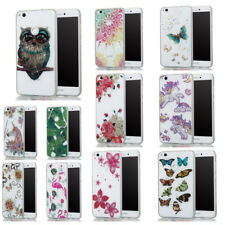 Glossy Pattern TPU Protective Back Case Cover For Huawei P8 Lite 2017/Y5 2017