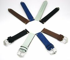 Vintage Calf Leather straps for ORIS and OMEGA watches with Buckle + Tools