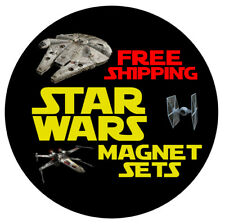 Star Wars Magnets - Sold in Sets of 12 - FREE Shipping