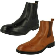 Mens Maverick Casual Ankle Boots