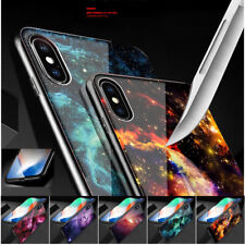 Ultra Thin Tempered Glass Shockproof TPU Slim Hard Back Cover Case For iPhone X