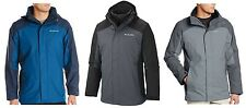 Columbia NWT $220 3-in-1 Eager Air Interchange Jacket All Weather Coat, L, Large