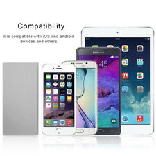 Slim 5000mAh Portable External Battery Charger Power Bank 2 USB Ports For iPhone
