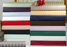 1000 TC Egyptian Cotton Bedding Item Extra Deep Pocket New Striped Color King