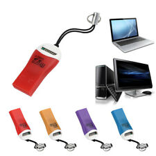 Flash Memory Card Reader Mini USB 2.0 Micro SD SDHC TF Adapter For Laptop PC