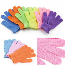 6~12 pairs Exfoliating Spa Bath Gloves Shower Soap Clean Hygiene Wholesale Lots