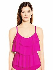 Kenneth Cole Reaction Women's Ruffle Shuffle Tiered Tankini - Choose SZ/Color