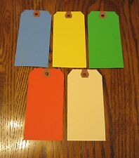 300  AVERY COLORED BLANK SHIPPING HANG TAGS SCRAPBOOK GIFT INVENTORY PAPER LABEL