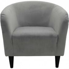 Modern Accent Arm Chair Microfiber Tub Lightweight Padded Seat Comfortable New!