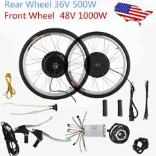 36/48V Electric Bicycle E-Bike Front Rear Wheel Conversion Kit Cycling Motor OY
