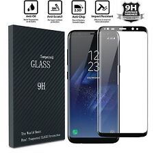 2x For Samsung Galaxy S8 PLUS+ Screen Protector Tempered Glass 3D Curved Glass