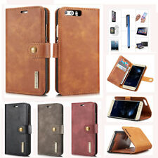 Genuine Leather Wallet Stand Case Cover For Huawei P8 P9 P10 Plus Lite Mate 9 10