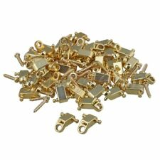 100 x Electric Guitar Copper Roller String Trees String Retainers Golden
